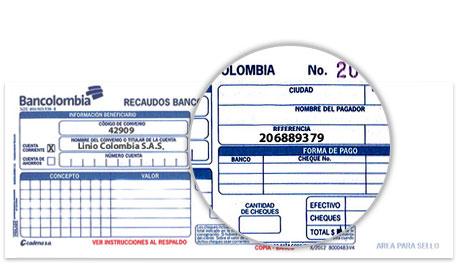 Consignación bancaria 2