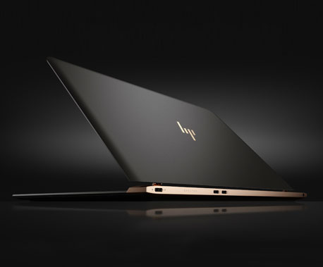 HP Spectre notebook design features
